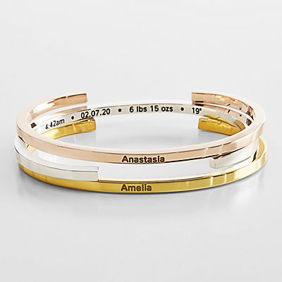 Baby Information Bangle