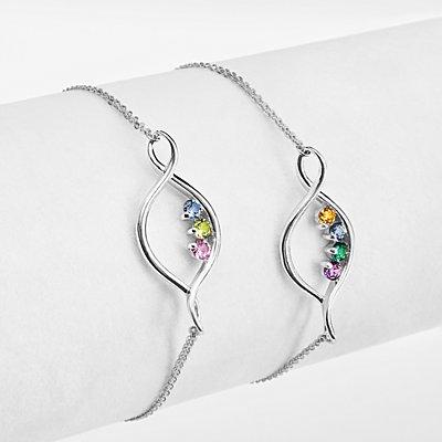 Eternal Embrace Birthstone Bracelet