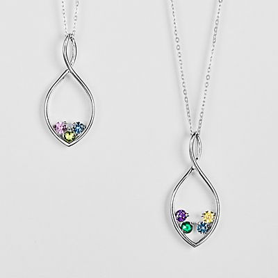 Eternal Embrace Birthstone Necklace