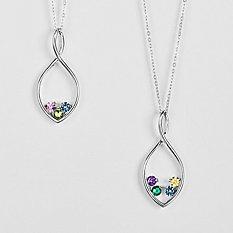 Eternal Embrace Birthstone Necklace