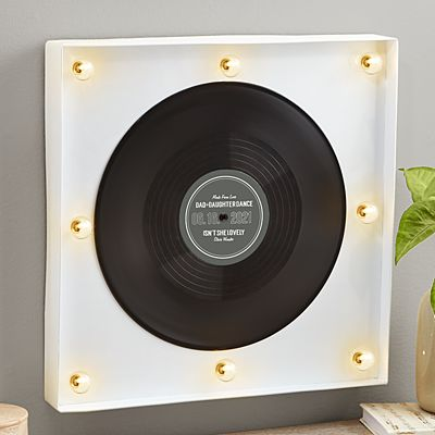 Personalized Favorite Song Vinyl Wall Art