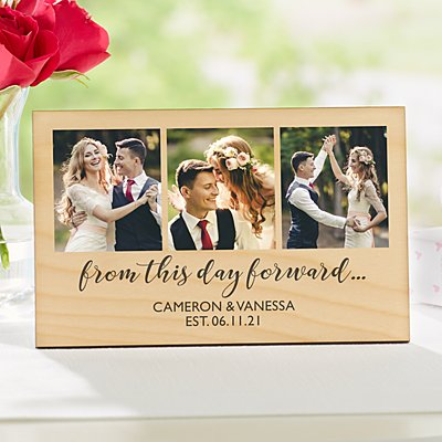 From This Day Forward Photo Plaque