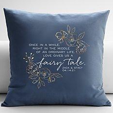 Love Gave Us a Fairytale Throw Pillow