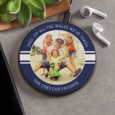 Any Message Photo Wireless Charger Pad