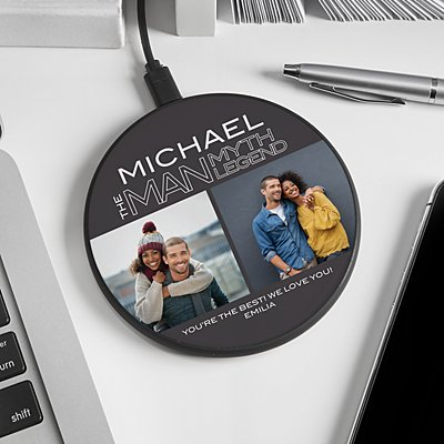 The Legend Photo Wireless Charger Pad