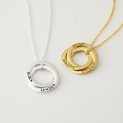 Family Rings Pendant