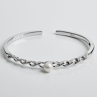 Always and Forever Pearl Bracelet